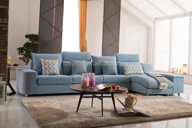 2017 Wooden Corner Sofa Design And Modern Cheap L Shape Sofa From ...