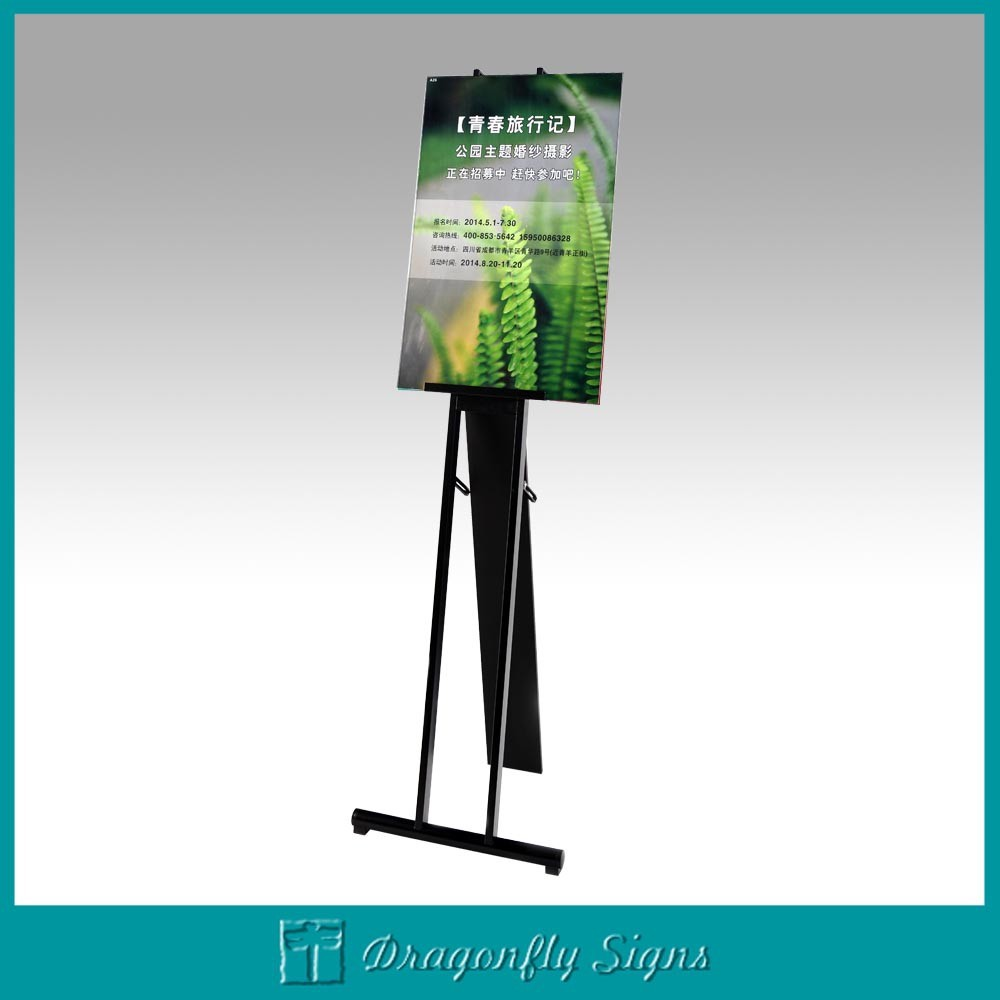 How to make a poster board display stand