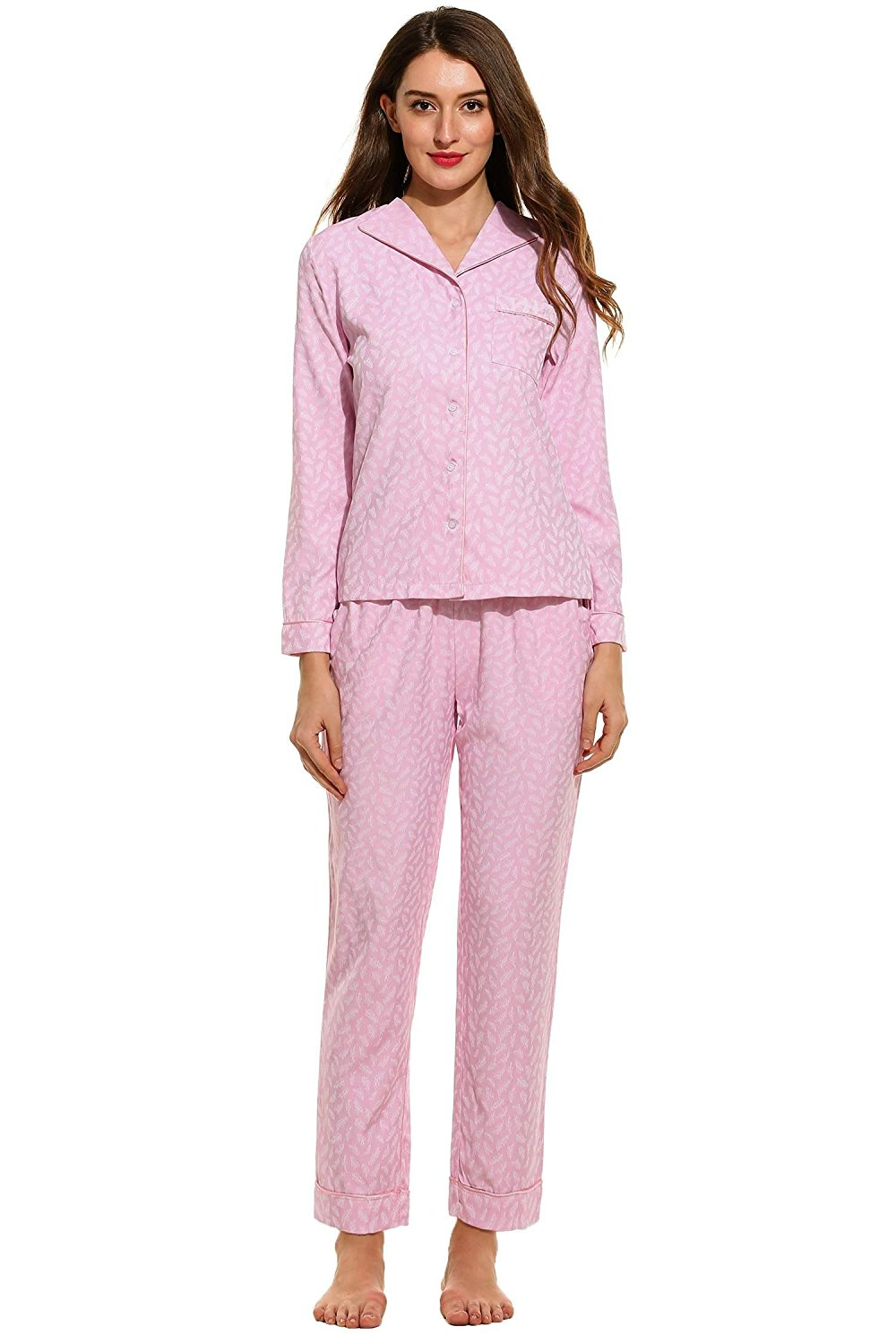 5ea9b60096 Get Quotations · PEATAO Cotton Pajama Sets Pajama Sets for Women Plus Size Pajama  Sets for Women Summer Sets
