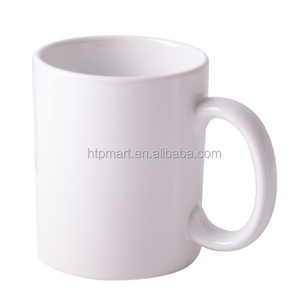 10oz Sublimation Coated Mug with White Patch of Good Price