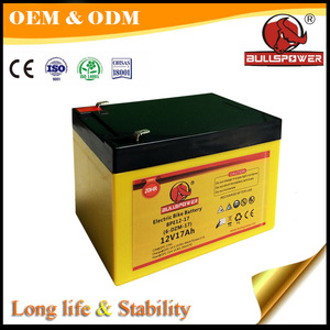 Good discharging factory price electric bike battery 12v 20ah for electric bike