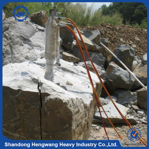 Factory Retail Wholesale Hydraulic Rock Cleaving Machine / Rock Splitter for Mountain