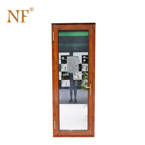 Hot Selling aluminum alloy french swing entry doors
