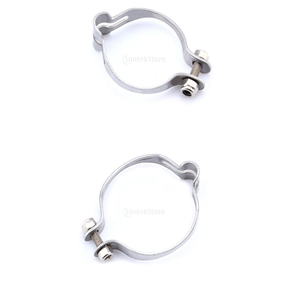 MonkeyJack 2pcs MTB Road Bike Bicycle Cable Clamps for Brake Cable Housing 25.4/28.6mm No Scratch No-tangle