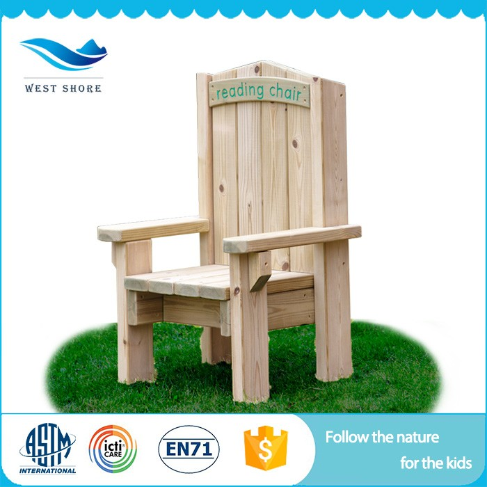 2018 Top Quality Nursery School Chair Wooden Toy Outdoor Set Free Daycare Furniture For Sale