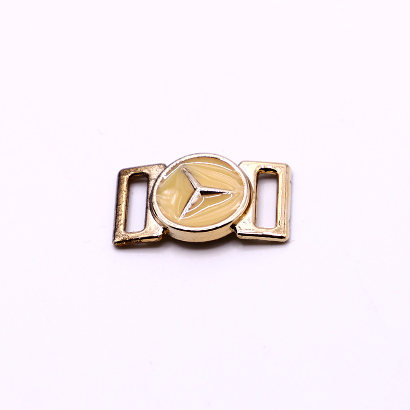 Women's fashion shoes accessories UV plating shoe buckle
