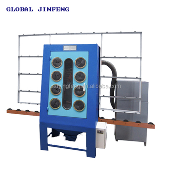 Jfp-1500 Small Size Cheap Price Manual Glass Sandblasting Machine with Manual Gun for Sale