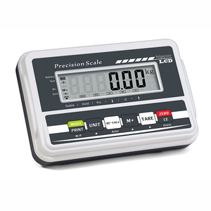 Large LCD display RS232C digital electronic animal Weighing Indicator