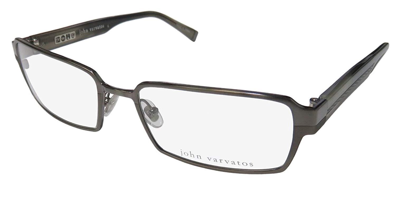 754594289351 Get Quotations · John Varvatos V133 Mens Designer Full-rim Eyeglasses Eye  Glasses