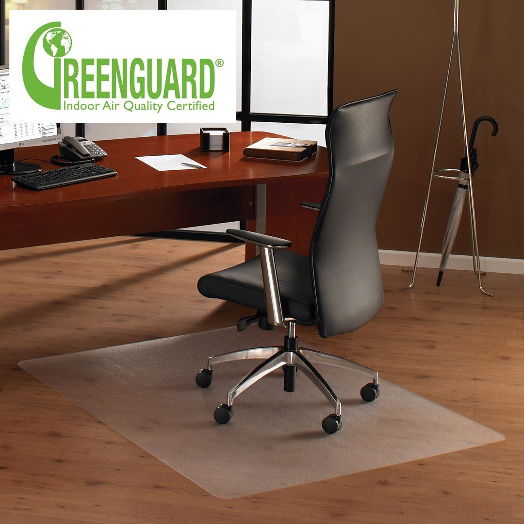 Get Quotations · MATDOM Office Chair Mat For Hardwood Floor, 48u0027u0027×30u0027u0027Great