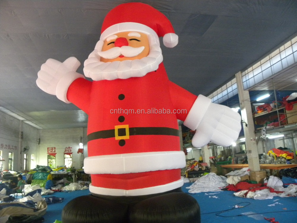 Giant m ft inflatable christmas santa claus china