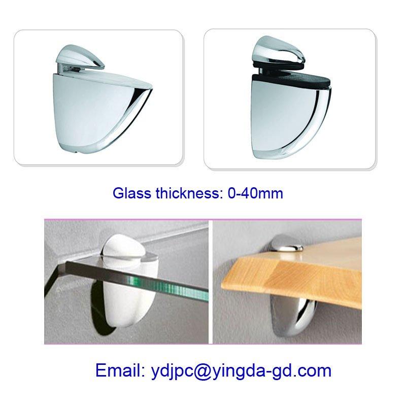 Adjustable 0 25mm Glass Shelf Bracket Support Buy Glass
