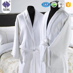 Five Star Hotel 100%Cotton woven bathrobes terry cloths fabric robes