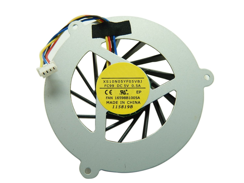 No Sound CPU Cooling Fan for Asus M50 G50 G50V G50VT G51 G51VX G60 N50 M50V DFS54B05MH0T