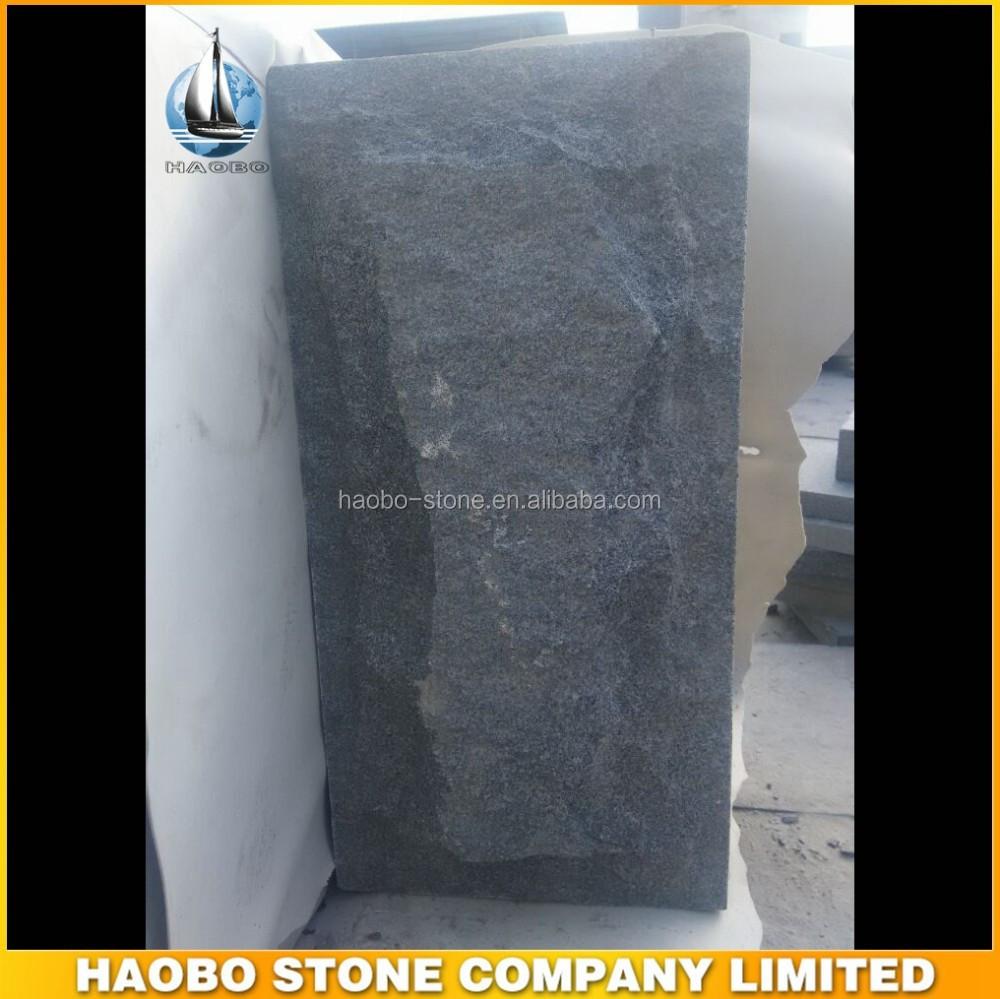 Champignon de pierre mur extérieur maison pierre décorative