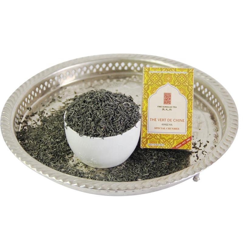 Best Chinese tea brands WANGGUANGXI chunmee green tea 41022 8A top quality - 4uTea   4uTea.com