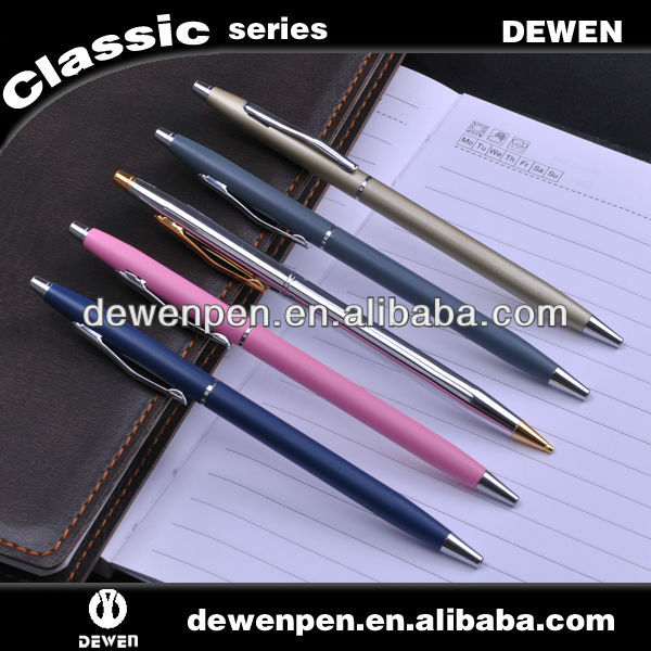 Factory supplied bic 5 color thin pen
