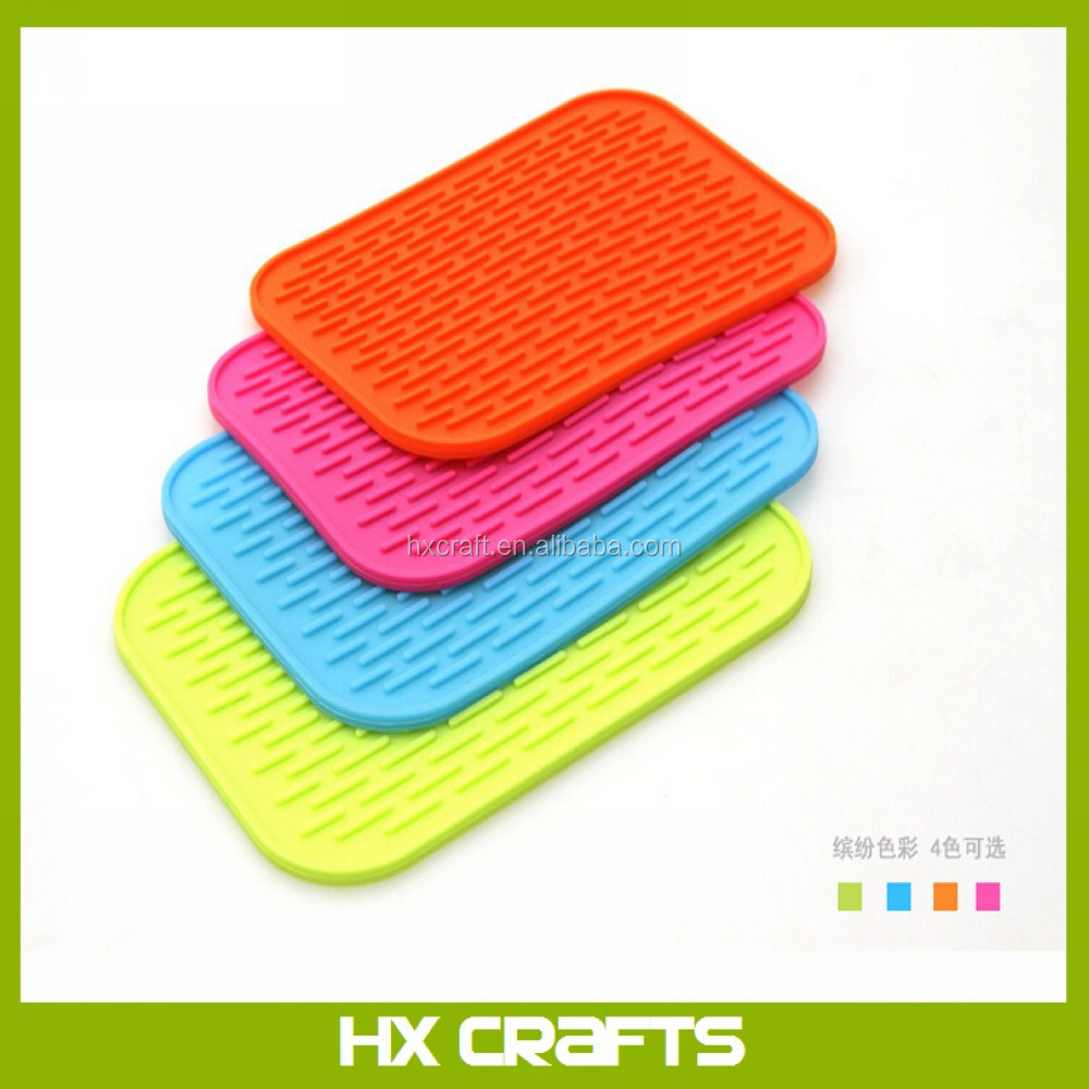 High quality durable silicone pot holder and silicone mat heat resistant