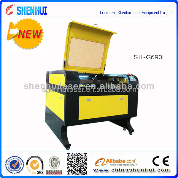 shenhui 690 laser engraver price for AD decoration and inner design cutter
