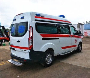 Made in China Hospital Rescue Ambulance Car for Sale in Kuwait