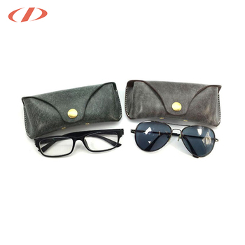 ec12dc0908a2 Dichel branded belt clip custom leather folding sunglass case specsavers  eye glasses case eyewear case