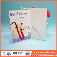 Factory quotes handmade happy birthday ideas greeting card for son