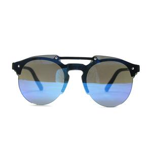 64c9d4ec07e One piece pc frame blue lens uv400 unisex sunglasses 2018