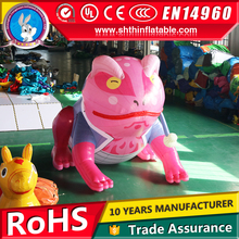 giant inflatable cartoon character frog for advertising