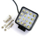 Hot selling IP67 high quality amber white Color DC 12v 4inch Led Worklight 48w Led Work Light
