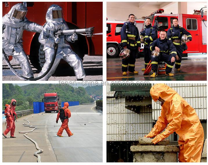 e56381581333 Fire fighting equipments heat resistant suit fireman suit