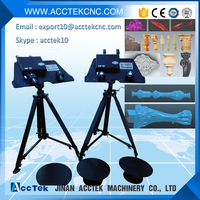 Europe quality portable shining 3d scanner for cnc , face body foot 3d scanner for sale
