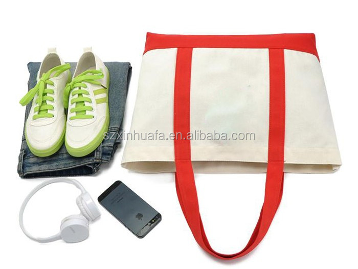 Hot Sell Promotion Cotton Open Shopping Bag