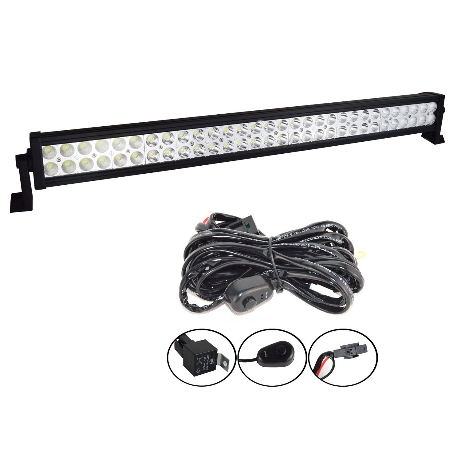 Cheap Truck Light Wiring Find Deals On Line At Driving Kit Get Quotations Willpower 34 Inch 180w Combo Led Work Bar Harness For