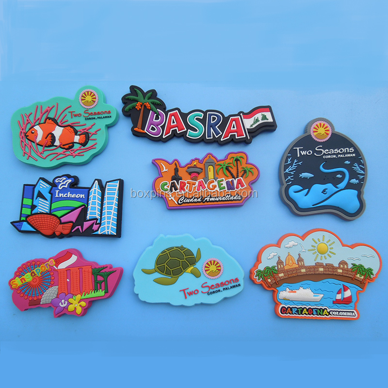 colorful rubber 3D words basra Iraq refrigerator magnet travel souvenir gifts