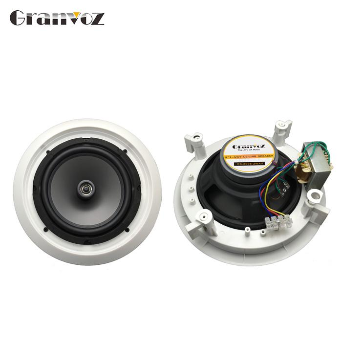 Hot Sale 2 Way 8 Inch Best Powered In Wall Wireless Wifi Ceiling Speakers Buy In Wall Speaker System Wifi Ceiling Speakers Best In Wall Speakers