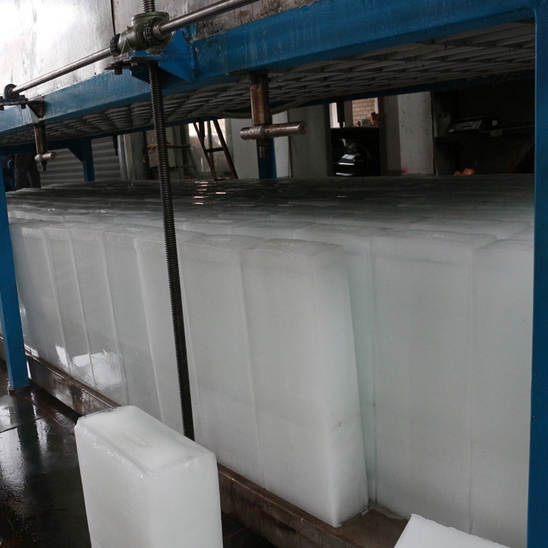 jingyaoautomatic edible ice block machine for order