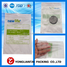 Shenzhen Yongliantai small freezer transparent metal ldpe recycled clear hdpe plastic zipper mini ziplock pe bag