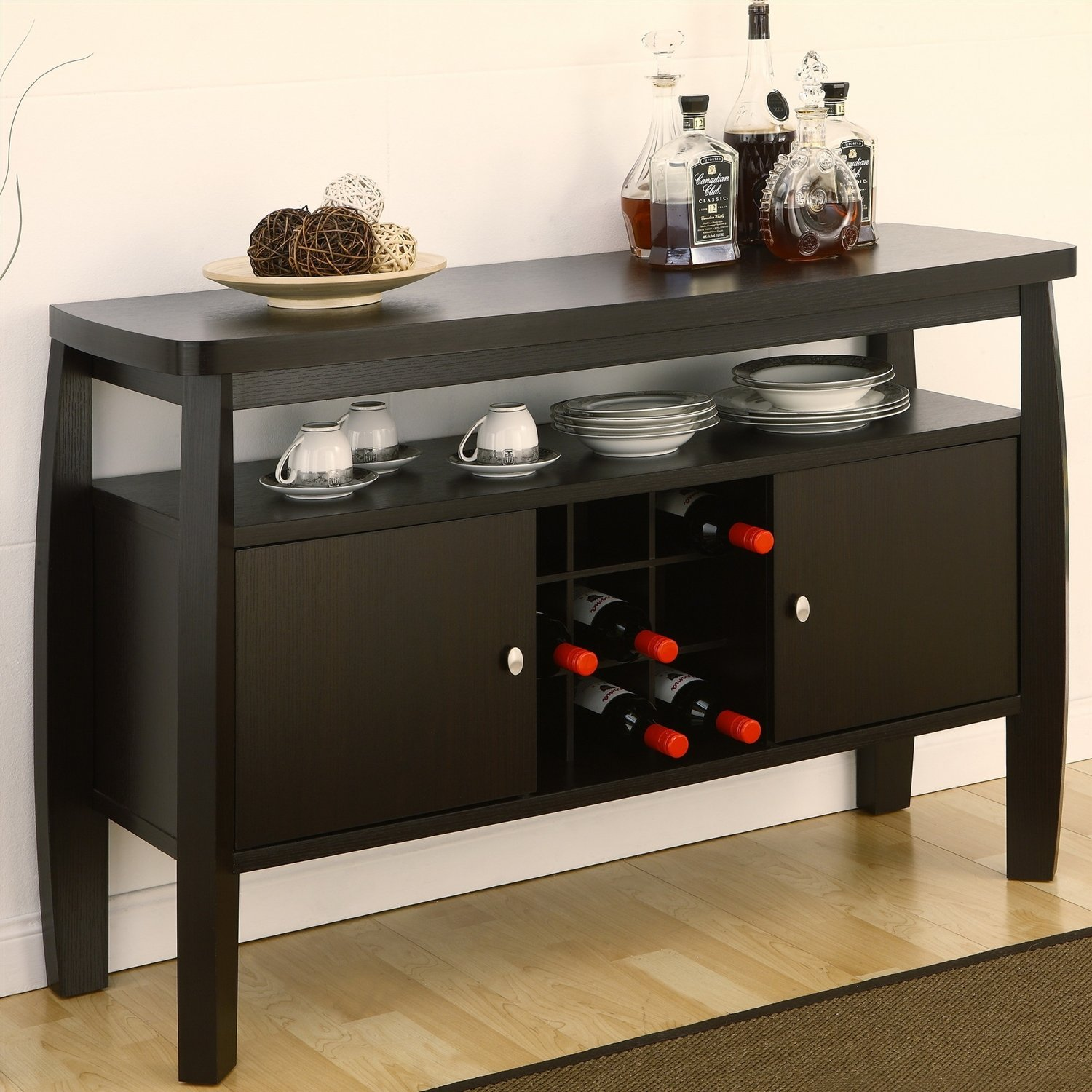 Get Quotations Modern Dining Room Sideboard Buffet Server Console Table