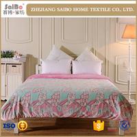 New design warm brushed king size 3d bedding set