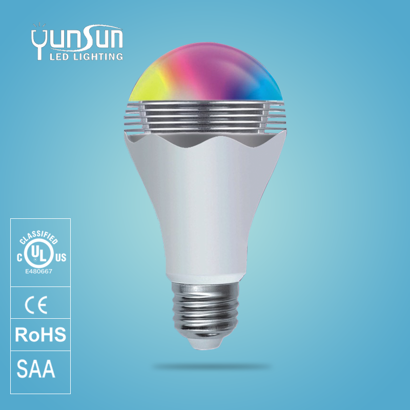 CE/RoHs listed bluetooth bulb electrical items price list smart Rgbw light in lights & lighting