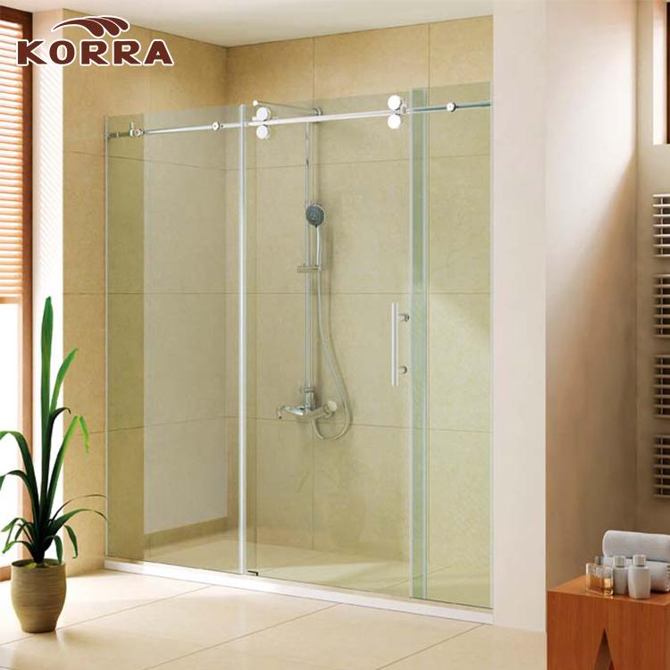 Australian Standard Frameless 8mm Corner Glass Shower Enclosure