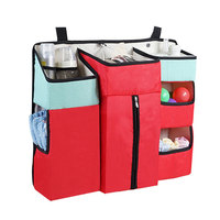 Portable Modern Travel Baby Bed Crib Wedge Diaper Organizer Set