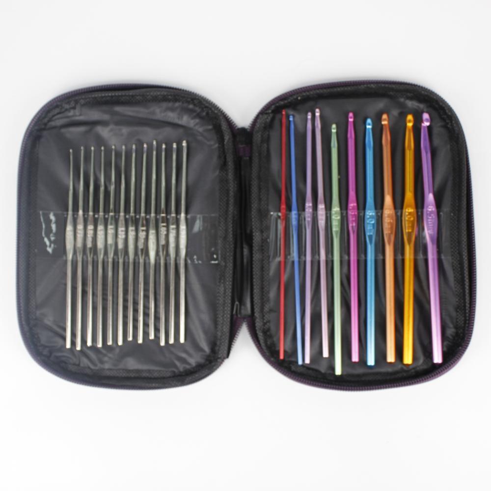 Häkelnadel Tasche Nadel Organizer Nähzubehör Werkzeuge