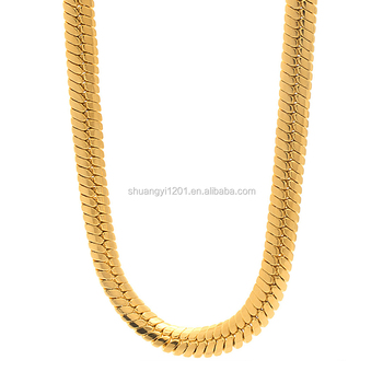 3cbbc33d091d5 Different Types Of Necklace Chain Gold Flat Snake Chain Necklace Men  Herringbone Chain Jewelry - Buy Gold Chain Necklace Snake,Different Types  Of ...