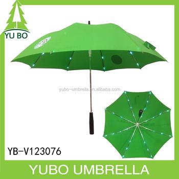 Advertising Flashing Led Umbrella Torch Handle Flashlight Straight Led  Umbrella - Buy Advertising Flashing Led Umbrella,Torch Handle Flashlight