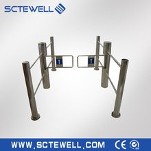 Hotel /Office/Subway Barcode Reader System swing barrier gate turnstile