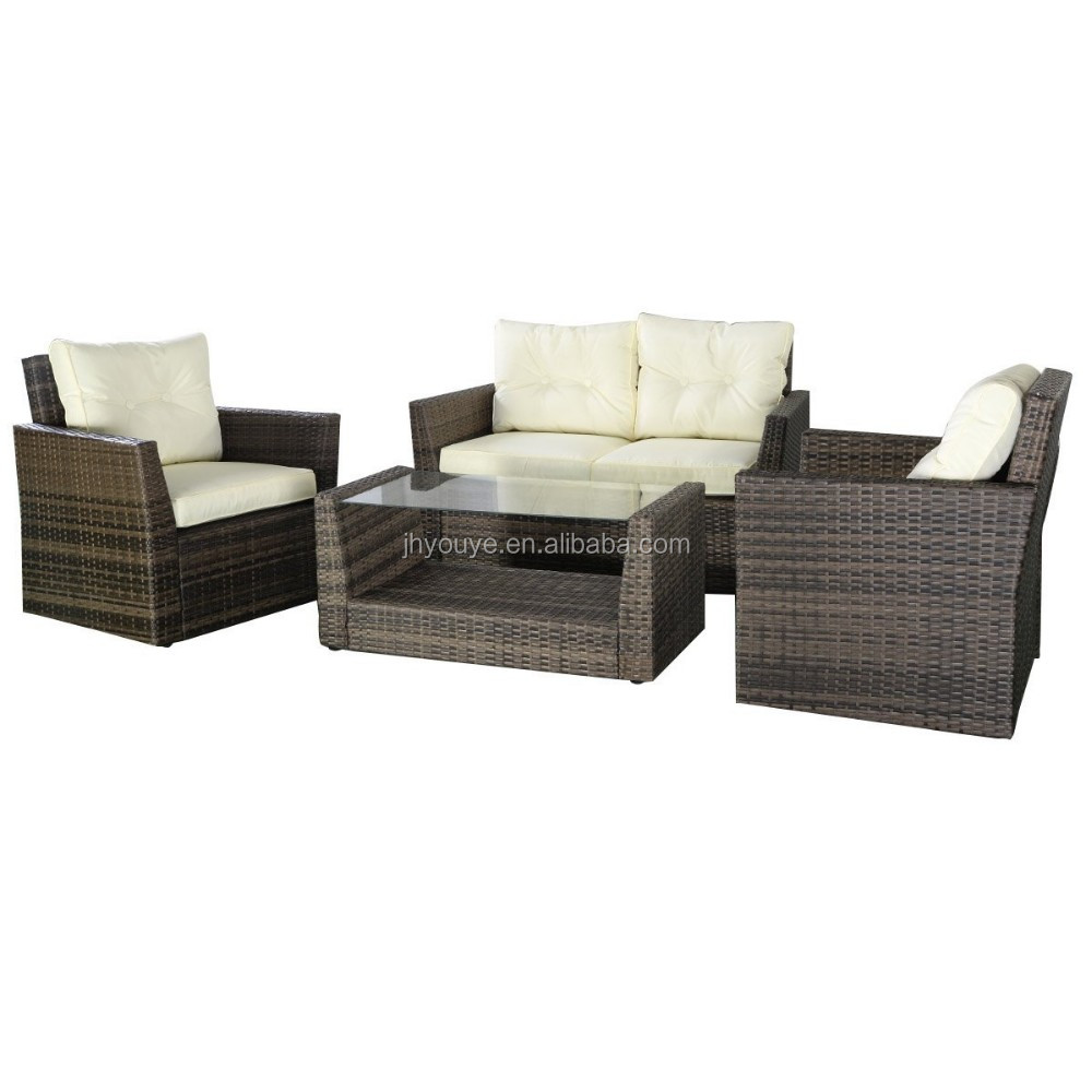 Cheap Price Elegant Stone Marble Rattan Sofa Furniture