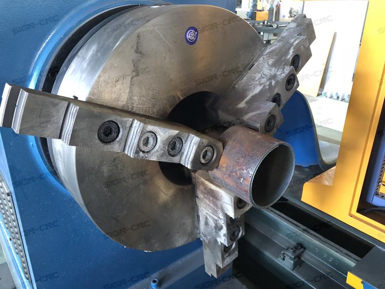 SIGN-609 Plasma cutting machine cnc Metal pipe cutting machine