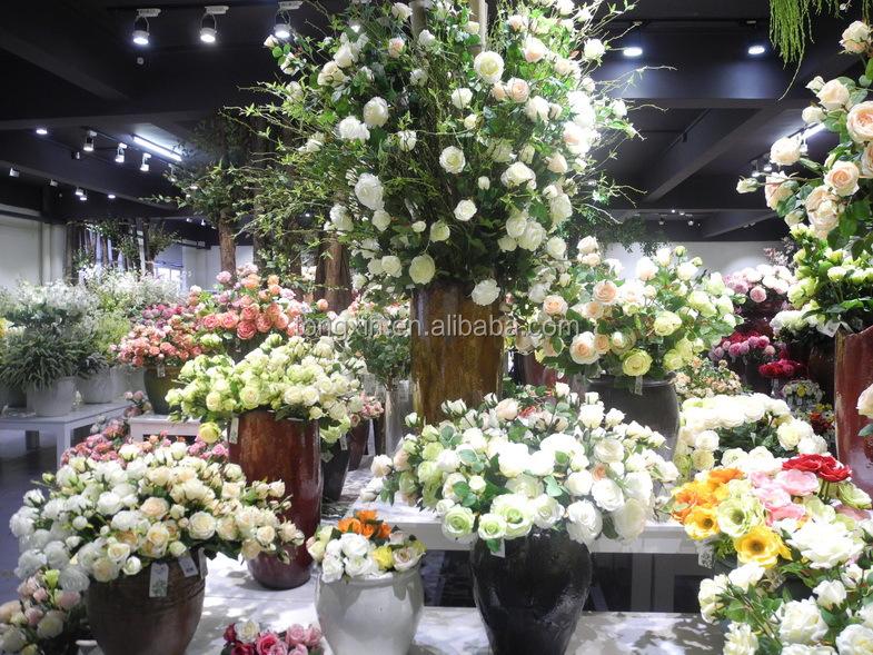 25 Klasik Dekoratif Bunga Mawar Sutra Dekorasi Rumah Gambar