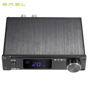 S.M.S.L pro Mini Portable HiFi Digital 3.5mm AUX Analog/ USB/ Coaxial/ Optical Stereo Audio Power Amplifier Amp with Controller